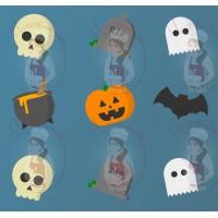 Transfer - Halloween Medley Pattern by Maman Gato & Cie