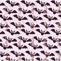 Transfer - Halloween Bats Pattern by Maman Gato & Cie