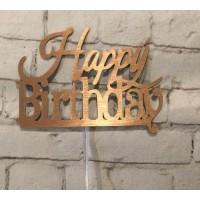 Happy Birthday -2- Cake Topper by Maman Gato & Cie