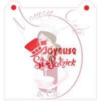 Stencil ''Joyeuse St-Patrick'' by Maman Gato & Cie