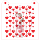 Stencil Pattern - In Lines Hearts by Maman Gato & Cie