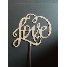 Cake Topper Love by Maman Gato & Cie
