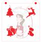 Stencil Christmas Medley 1 by Maman Gato & Cie