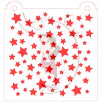 Stencil Pattern - Stars by Maman Gato & Cie