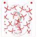 Stencil Pattern Hockey Sticks Random by Maman Gato & Cie