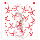 Stencil Pattern Hockey Sticks and Puck Random by Maman Gato & Cie