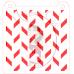 Stencil Pattern Cut Chevron - 2 Tones by Maman Gato & Cie