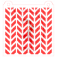 Stencil Pattern Cut Chevron by Maman Gato & Cie