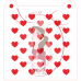 Stencil Pattern - Double Heart - 2 pieces - by Maman Gato & Cie
