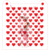 Stencil Pattern - Double Heart by Maman Gato & Cie