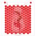 Stencil Pattern Honeycomb - Hexagone by Maman Gato & Cie
