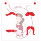 Stencil Mustache Medley 1 by Maman Gato & Cie