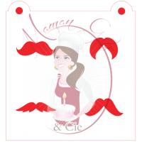 Stencil Mustache Medley 2 by Maman Gato & Cie