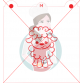 Stencil Curly Lamb Paint Your Own by Maman Gato & Cie