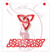Stencil Celtic Knot 2  by Maman Gato & Cie