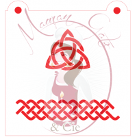 Stencil Celtic Knot 1  by Maman Gato & Cie