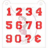 Stencil Number Varsity by Maman Gato & Cie