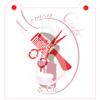 Stencil Hairdresser - Comb and Scissors by Maman Gato & Cie