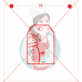 Stencil Gift Tag Snowman Paint Your Own by Maman Gato & Cie