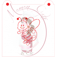 Stencil Ladybug Paint Your Own by Maman Gato & Cie