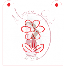 Stencil Flower Paint Your Own by Maman Gato & Cie