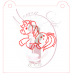 Stencil Unicorn Paint Your Own by Maman Gato & Cie