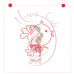 Stencil Bird with Flower Paint Your Own by Maman Gato & Cie