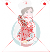 Stencil Princess Paint Your Own by Maman Gato & Cie