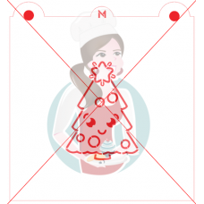 Stencil Christmas Tree Paint Your Own by Maman Gato & Cie