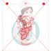 Stencil Happy Mermaid Paint Your Own by Maman Gato & Cie