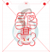Stencil Skeleton Body Your Own by Maman Gato & Cie