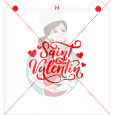 Stencil ''Saint-Valentin'' by Maman Gato & Cie
