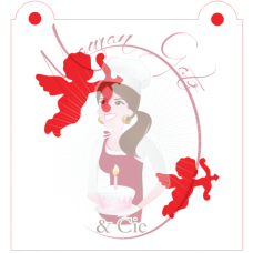 Stencil Cupid by Maman Gato & Cie