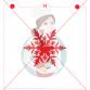 Stencil Snowflake 3 by Maman Gato & Cie