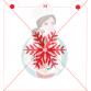 Stencil Snowflake 4 by Maman Gato & Cie