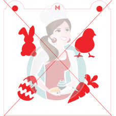 Stencil Easter Medley by Maman Gato & Cie