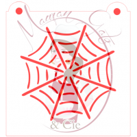 Stencil Spider Web by Maman Gato & Cie