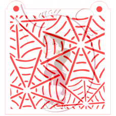 Stencil Mixed Spider Webs by Maman Gato & Cie