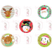 Cupcake Toppers - Christmas Medley 1 by Maman Gato & Cie
