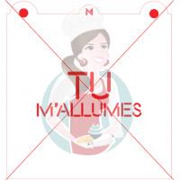 Stencil ''Tu M'Allumes'' - Neon - by Maman Gato & Cie
