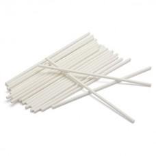 Bâtonnets à sucettes en papier 4.5'' x 5/32''