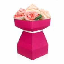 Cupcake Bouquet Box Kit - Hot Pink