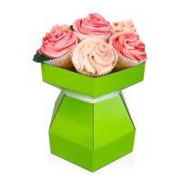 Cupcake Bouquet Box Kit - Lime Green