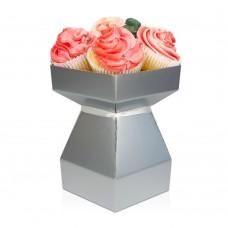 Cupcake Bouquet Box Kit - Silver