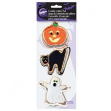 Cookie Cutter Set - Halloween by Wilton