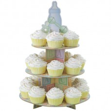 Cupcake Stand - Baby Feet - Wilton