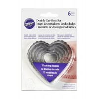Double Cut-outs Set Hearts by Wilton