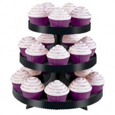 Cupcake Stand - Black - Wilton