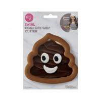 Cookie Cutter Confort Grip Swirl Emoji Poo by Rosanna Pansino and Wilton
