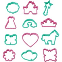 Girl's Cookie Cutter Set By Wilton